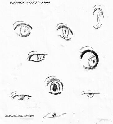 ejemplos de ojos