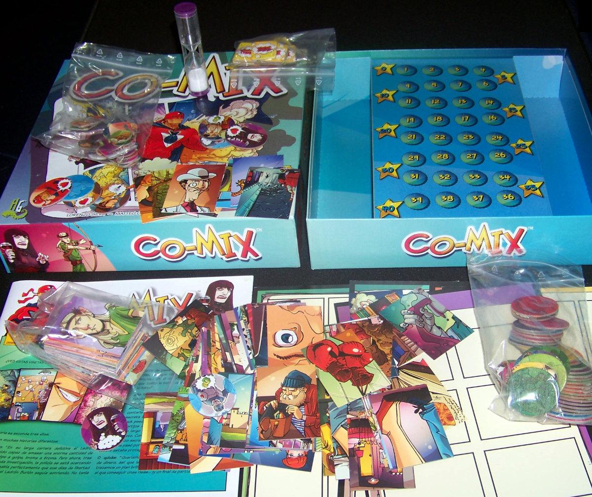 Co-Mix todos los componentes