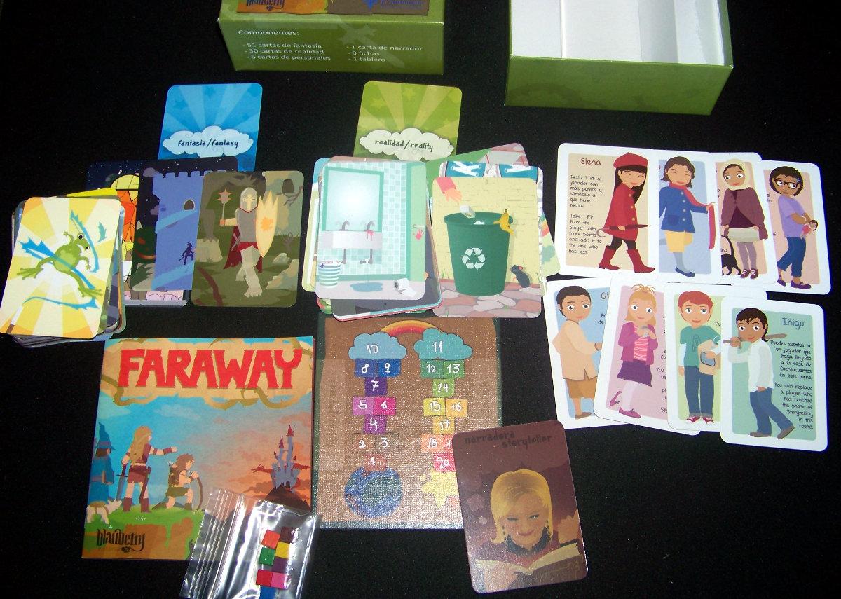 Faraway - Componentes