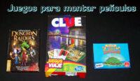 Juegos de mesa: juegos para montar películas