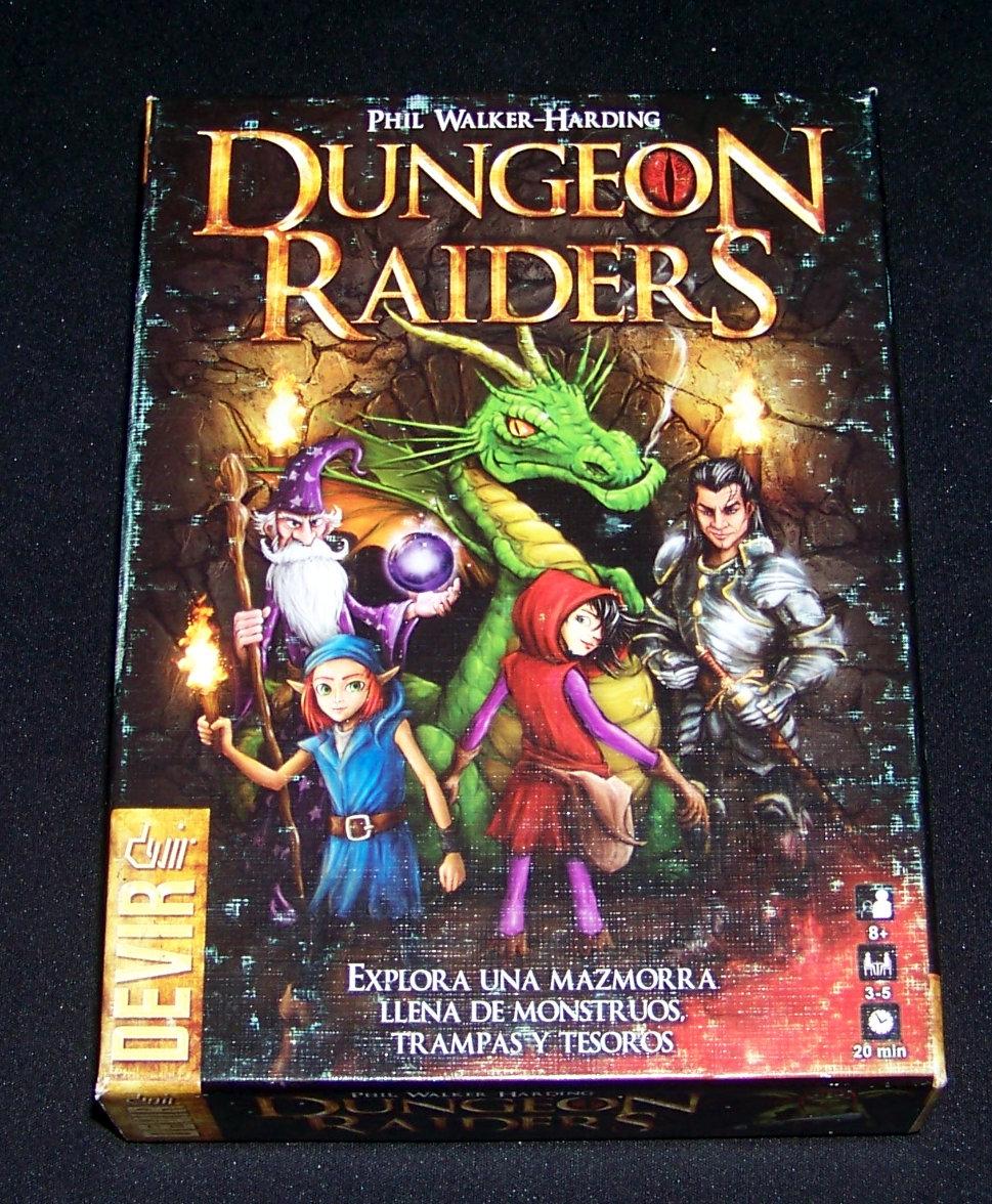 Portada de Dungeon Raiders