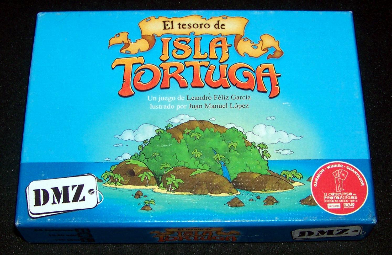 Caja de El Tesoro de la Isla Tortuga